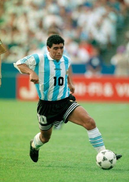 Diego Armando MARADONA (Argentina) - Copa do Mundo 1994. ddc9d3e66a0ac