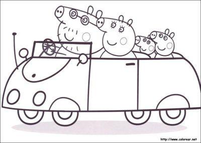 Dibujos De Peppa Pig En Español Gratis auto