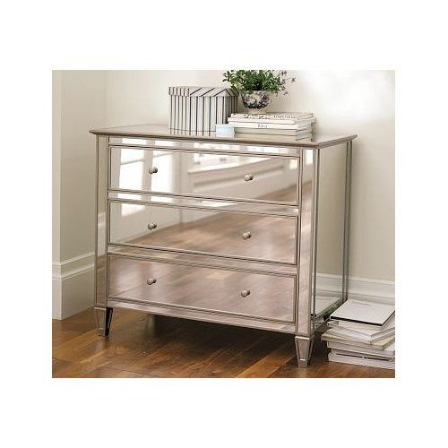 overawe pottery barn mirrored dressers bedroom