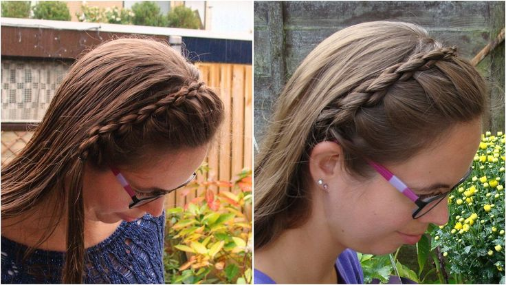 DIY Round 3D headband braid tutorial