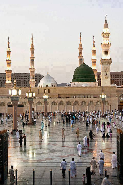 The Beauty Of Masjid-e-Nabawi