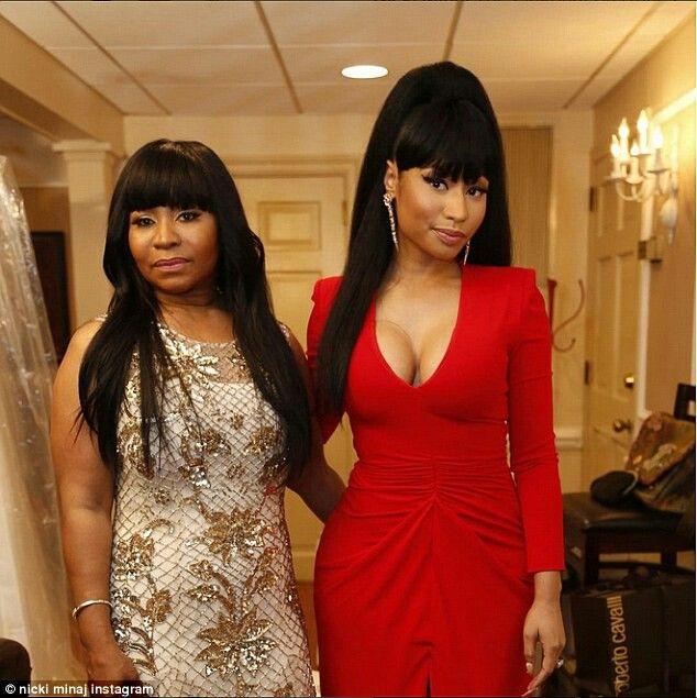 Carol Maharaj  & Nicki Minaj