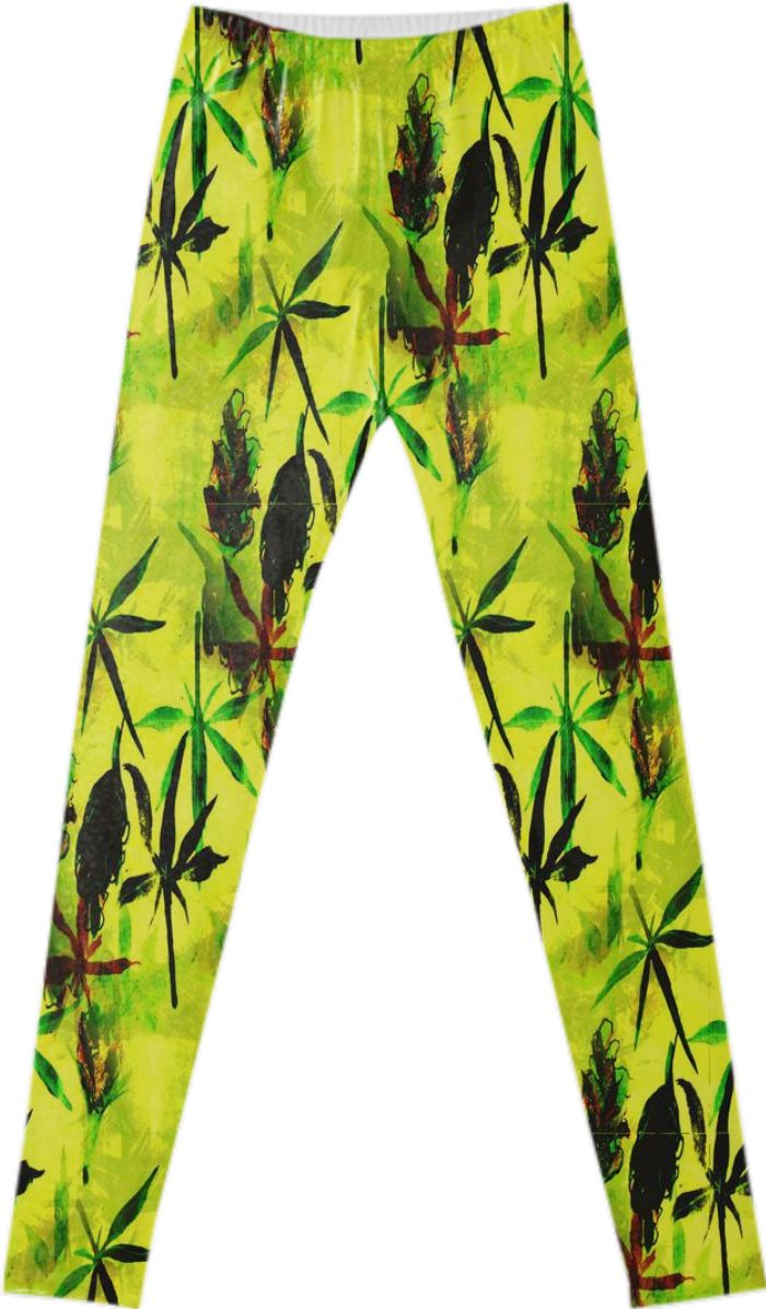 Sour Diesel leggings by Cannabis Color from Print All Over Me