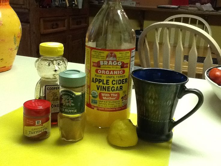 Super Sinus Cocktail:  2 days ago I was sick as a dog with a sinus infection (my last one lasted 2 months, so these usually stick around for awhile).  I have been drinking this cocktail 2x a day since then, and it has completely turned me around.  I am a believer.    1 c. hot water 2 Tbsp. Bragg's Apple Cider Vinegar 1 Tbsp. Honey 1 tsp. Cayenne Pepper 1 tsp. Turmeric 1 tsp. Ginger Juice of 1/2 Lemon  It doesn't even taste that bad!
