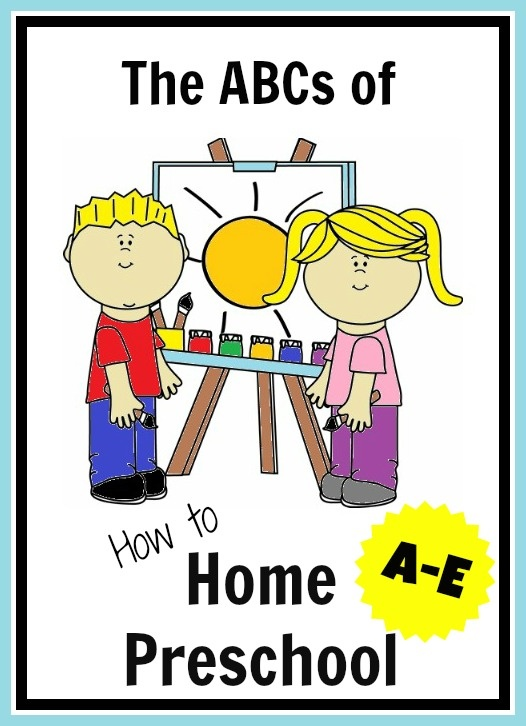 The ABC's of How to Home Preschool from A to Z from In Lieu of Preschool