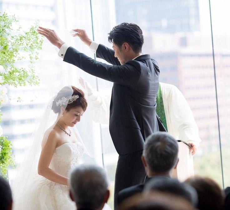 【結婚式レポ・挙式編】一目惚れしたパレスホテル東京の教会でマタニティウェディング♡