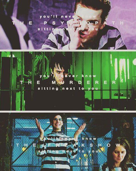 My favourite characters and my favourite song right now! Penguin Riddler Jerome... <3