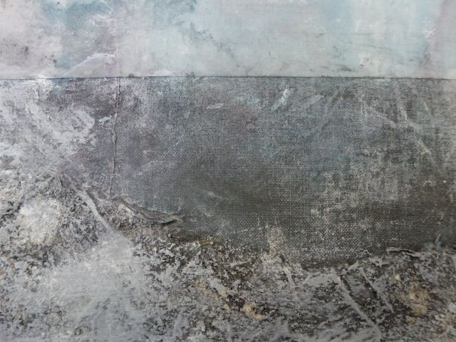 TEXTURE AND COLOUR,detail of painting,UNNI HOFF