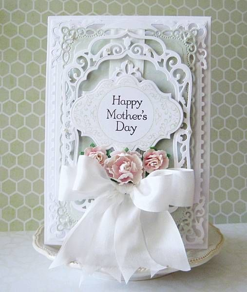 103 best spellbinders elegant labels 4 images on pinterest for Classy mothers day cards