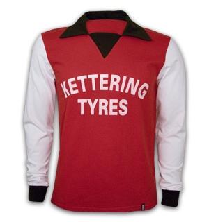 Kettering Town first shirt sponsorship