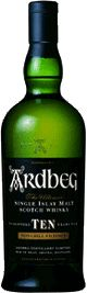 Ardbeg Distillery Single Malt Scotch Whisky 10 year old $44.38 - Bold menthol and black pepper slice through the sweet smoke followed by tarry ropes and graphite.   *Please note: Prices may be not be guaranteed. Please check our website, www.TheWineGuyLi.com for today's price. We promote specials with our SuperSaver card periodically. Subject to Inventory Depletion.*