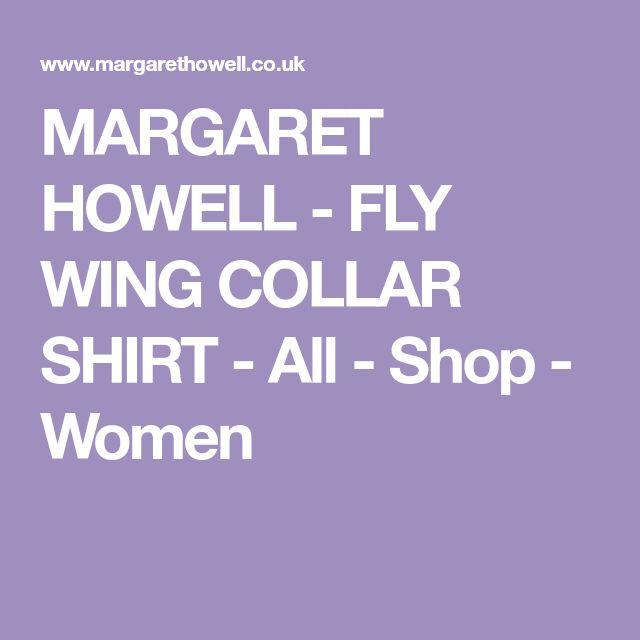 MARGARET HOWELL - FLY WING COLLAR SHIRT - All - Shop - Women