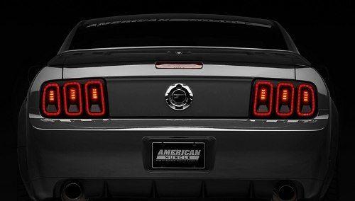 Calaveras Led Estilo 2013 Para Ford Mustang 2005 – 2009