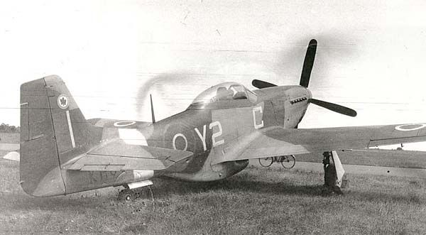 RCAF Mustang