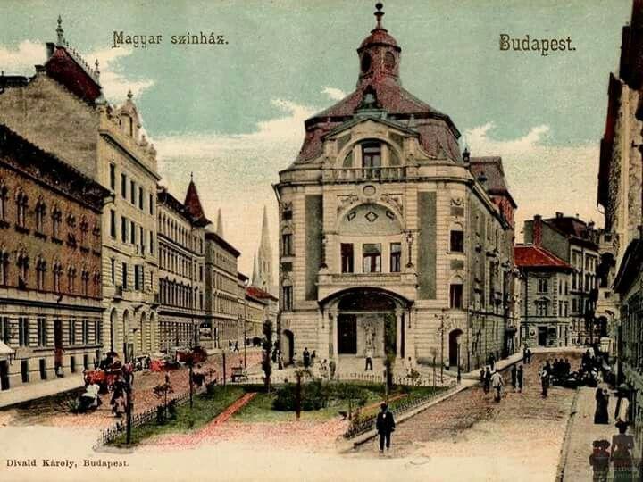 Izabella (Hevesi Sándor) tér , Magyar színház