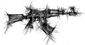 2020 Other Images Ak47 Drawings In Pencil