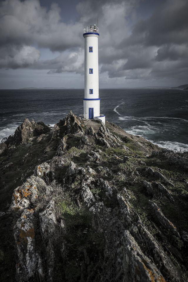 #Lighthouse - #Faro de Cabo Home, Cangass de Morazzo, #Spain - http://dennisharper.lnf.com/
