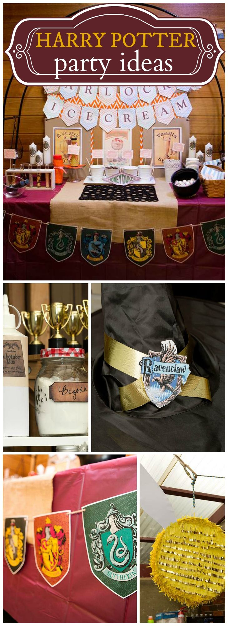 "Harry Potter / Birthday ""Jamie's Wizard-tastic Harry Potter Party"""