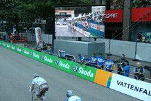 Mobiler LED Trailer OC 6/12 für Public Viewing oder Sport Events