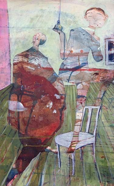 "Saatchi Art Artist Ilya Volykhine; Painting, ""Switched On, 2015"" #art"