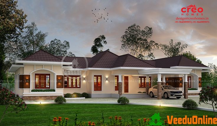 2350 sq ft single floor contemporary home designs dream - Traditional home plans and designs ...