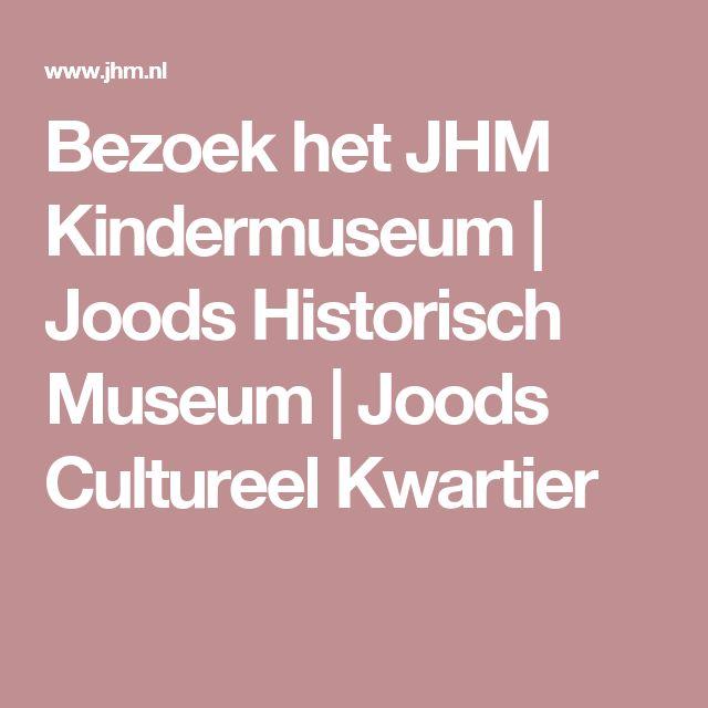 Bezoek het JHM Kindermuseum | Joods Historisch Museum | Joods Cultureel Kwartier Broodjes bakken, knutselen, muziek maken