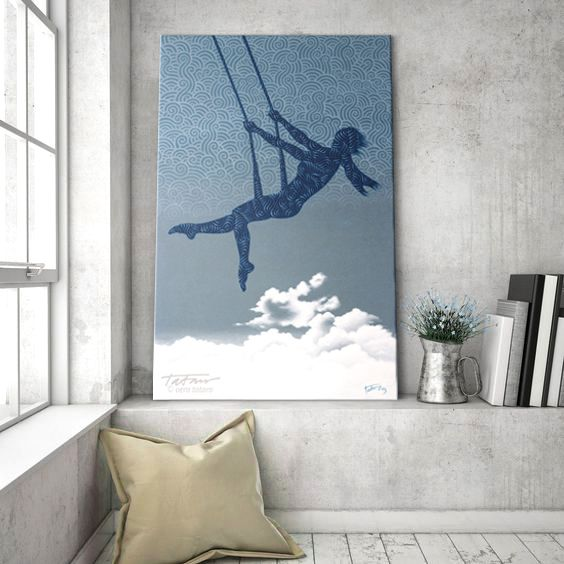 acrylic painting by vera ema tataro