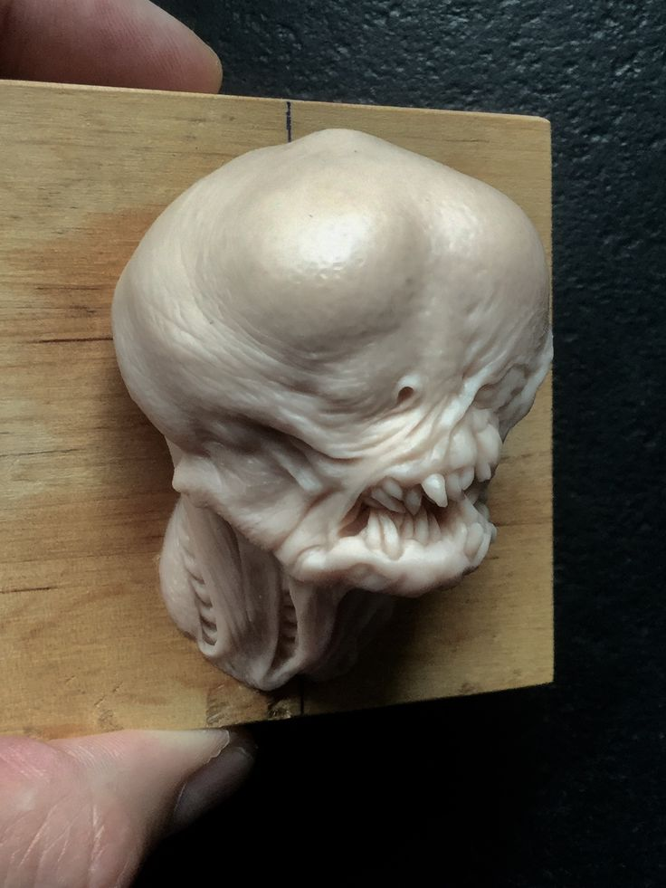 Alien/ super sculpey/2,5 inches