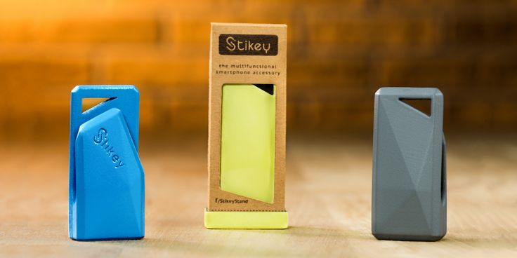 Stikey - a portable stand and cable tidy on your keys! April on Kickstarter! http://stikey.co.uk/