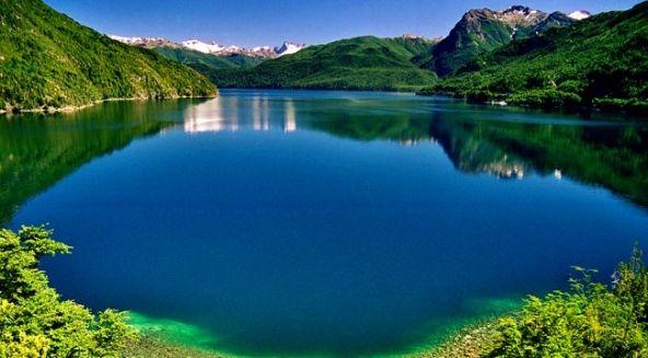 Lago Verde, Parque Nacional Los Alerces, Chile south of Bariloche