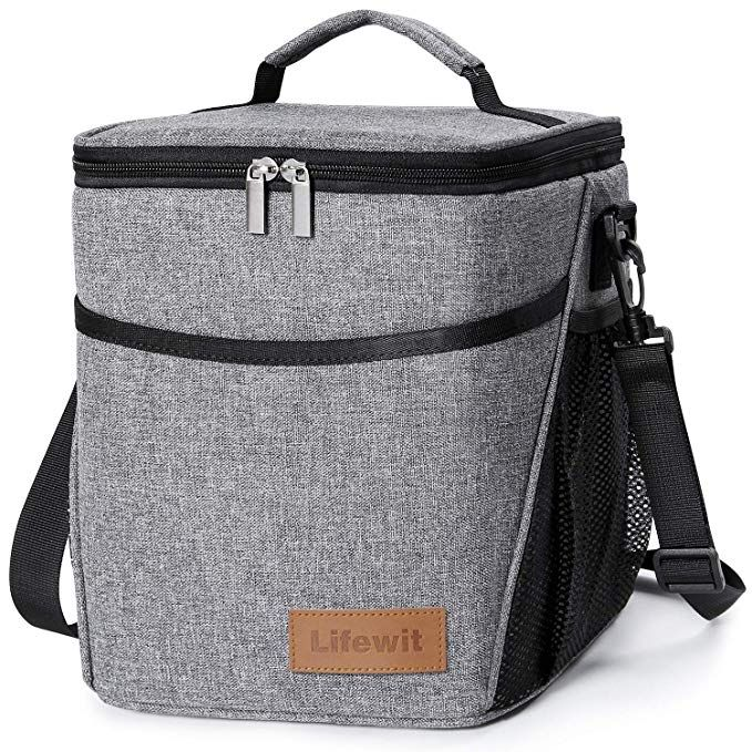 8500547927e0 Lifewit Insulated Lunch Box Lunch Bag for Adults Men Women, 9L (12 ...