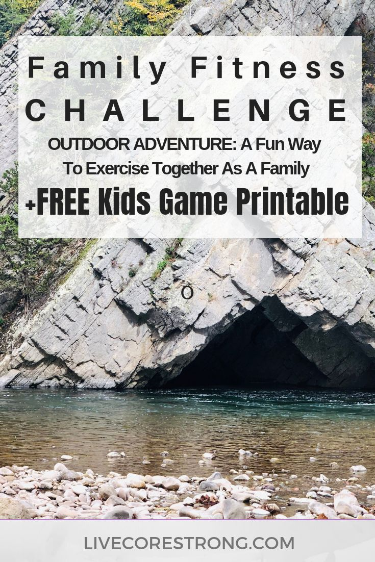 Family Fitness Challenge: Outdoor Adventure