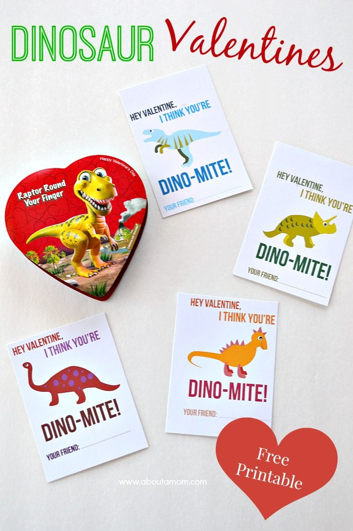 These free printable Dinosaur Valentines are gender neutral and perfect for classmates.