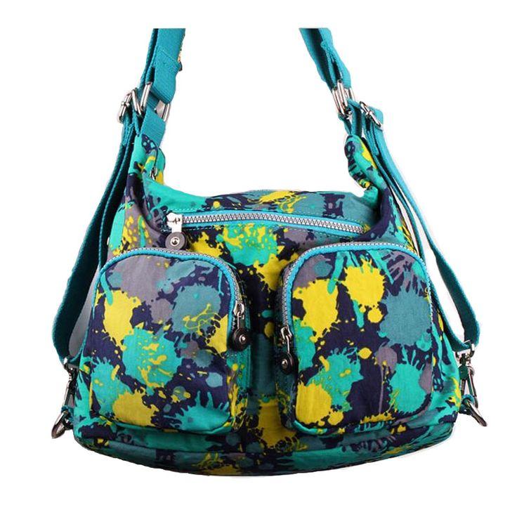 Women nylon crossbody bags Large Capacity Waterproof Nylon Tote Bags