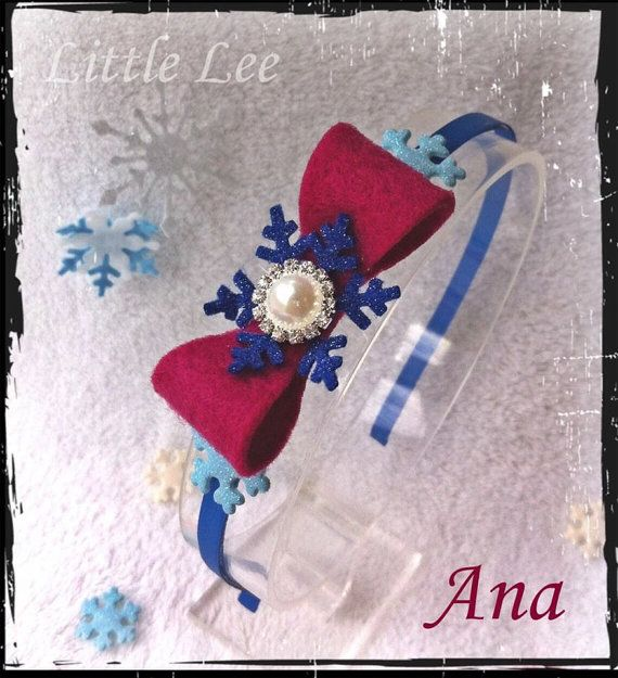 Frozen Ana inspired Headband by LittleLeeCreations on Etsy, $12.00