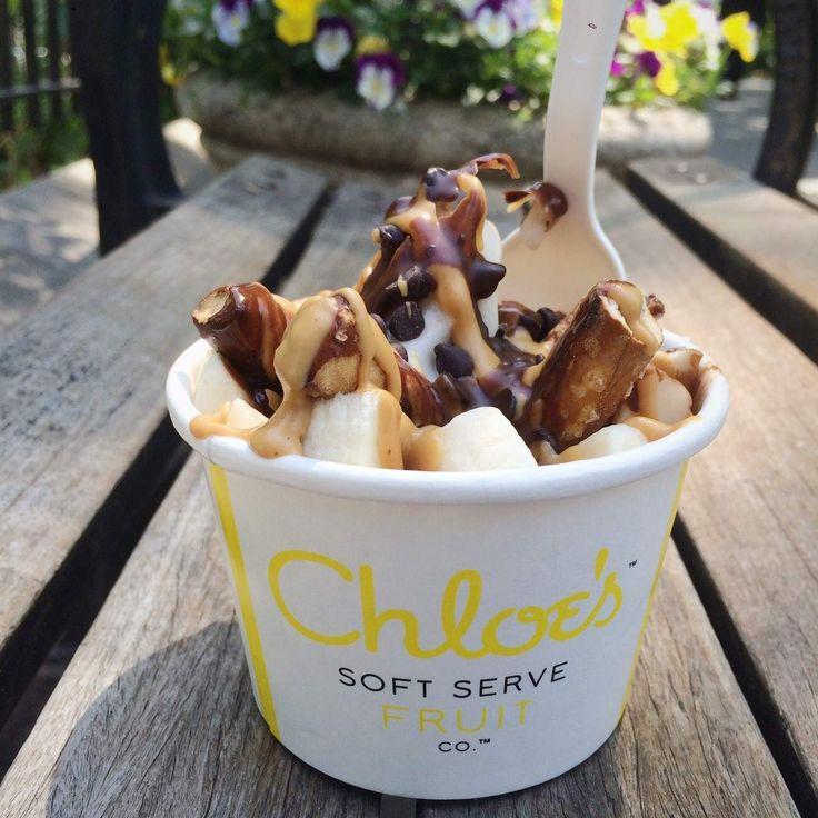 Chloe's Soft Serve Fruit Co. - Union Square ***The Crunchy Salty