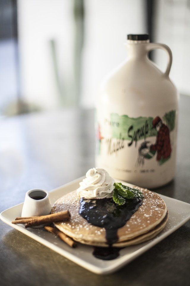 Palm Springs Get brunch that rivals anything in LA The right-Downtown, chef-driven restaurant Workshop Kitchen & Bar started a dining renaissance in Palm Springs, but honestly the best meal there is brunch, where you can get down on blue crab eggs Benedict or duck egg huevos rancheros, or, um, BOTH.