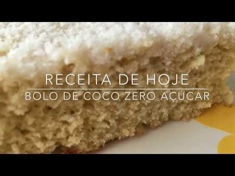 Bolo de coco sem açúcar - Cozinha da Robs