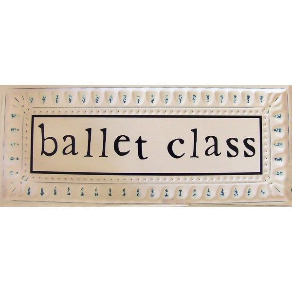 Ballet Tin Signs | Dance | Brown and Pink Room | ($117) ❤ liked on Polyvore