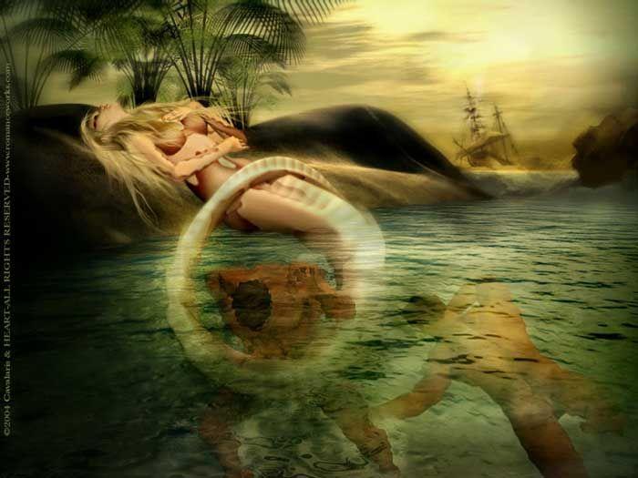 captured Evil Siren Mermaid | Sirens Song | Mermaids and ...