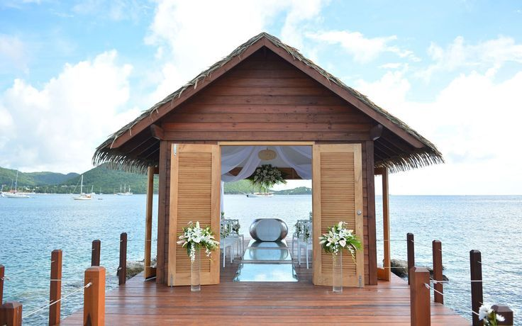 Sandals has opened an overwater chapel in St. Lucia Sandals Grand St. Lucian