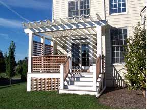 7 best front porch ideas images on pinterest | patio ideas, porch ... - Patio Lattice Ideas