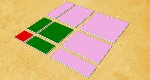 Réaliser la Table de Pythagore selon Montessori : Modèle Sensoriel en Carton DIY Montessori Multiplication Sensorial Board