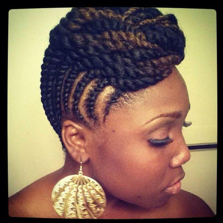 Sensational 1000 Images About Black Hair Braid Styles On Pinterest Black Short Hairstyles For Black Women Fulllsitofus