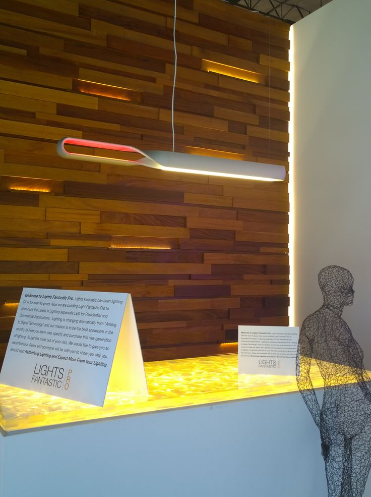 Infinito Suspension LED Lamp for front desk