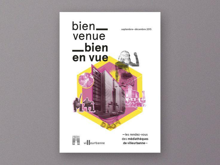 brochure médiathèque Villeurbanne