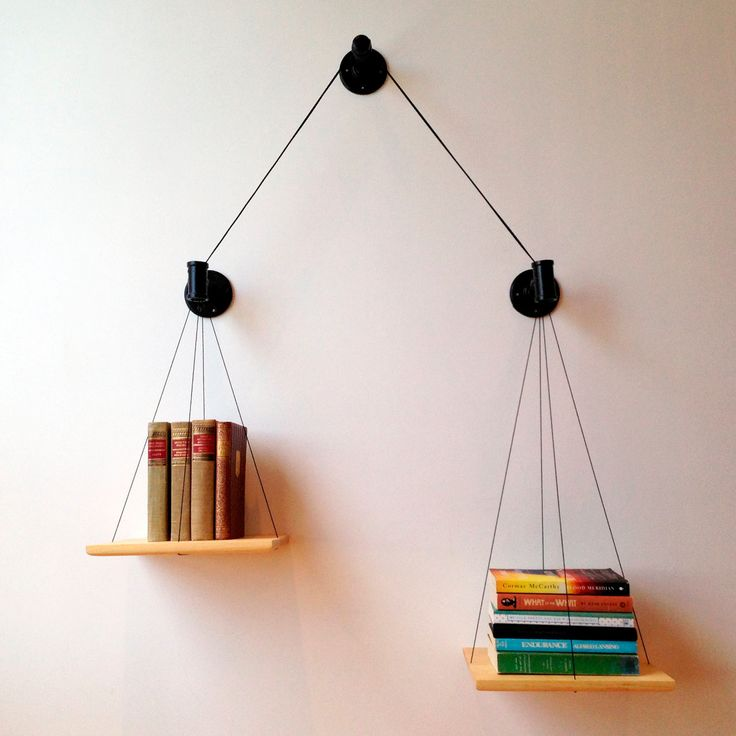 Balancing Bookshelf by Crush Design Studio - Design Milk