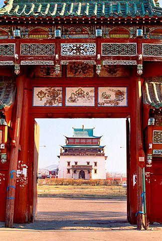 Gandan Monastery, Ulaanbaatar, Mongolia
