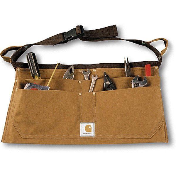 Smart canvas tool belt - carhartt