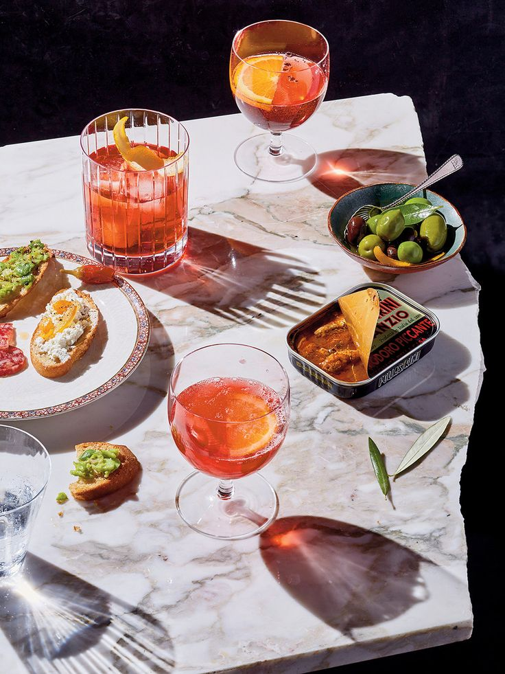 Two drinks for aperitivo time: the Cyn-Cyn and the…